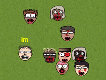 Игра Frickinzombies.io