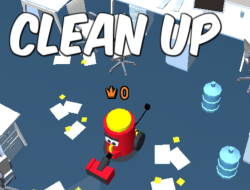 Игра  Clean Up Io