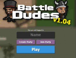 Игра Battle Dudes Io