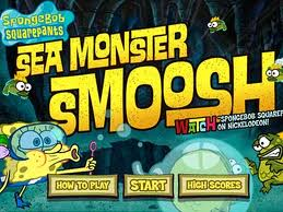 Игра Sponge Bob. Sea Monster Smoosh