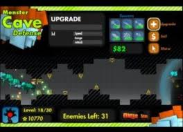 Игра Monster Cave Defense