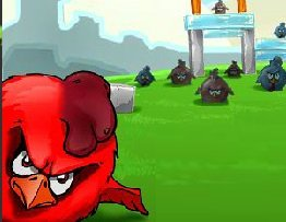 Игра Angry Birds Chicken House