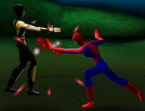 ���� Spider-Man 3D Fighting