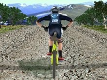 Игра 3D Mountain bike