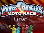���� Power Rangers Moto Race