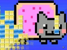 Игра Nyan Cat Block Escape