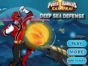 ���� Power Rangers Deep Sea Defense