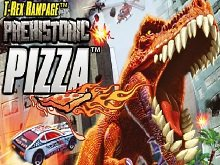 ���� T-Rex Rampage: Prehistoric Pizza