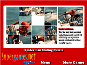 Игра Spiderman Sliding Puzzles
