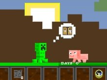 Игра Creep Minecraft